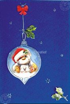 Image de Mylo & Friends® kit de cartes Noël 3D