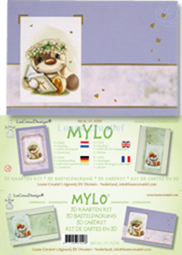 Image de Mylo & Friends® kit de cartes 3D pour communion