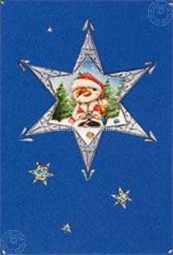 Image de Mylo & Friends® kit de cartes de Noël Etoile de Noël #3