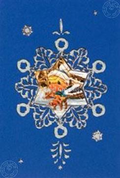 Image de Mylo & Friends® kit de cartes de Noël flocon de neige #5
