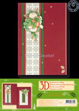 Image de Kit des cartes de Noël 3D rouge