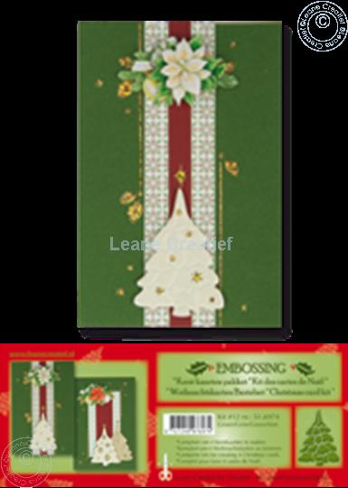 Image sur Kit des cartes de Noël embossing vert