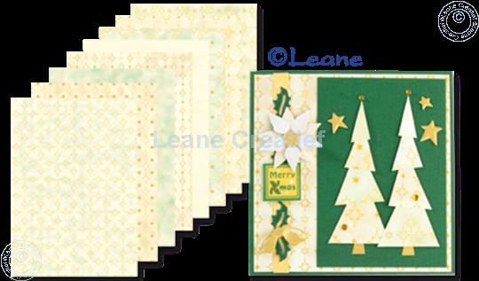 Afbeelding van Design papier gold tones A5