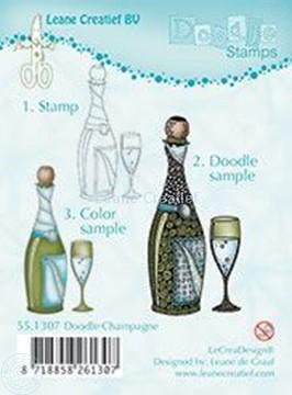 Image de Doodle Champagne