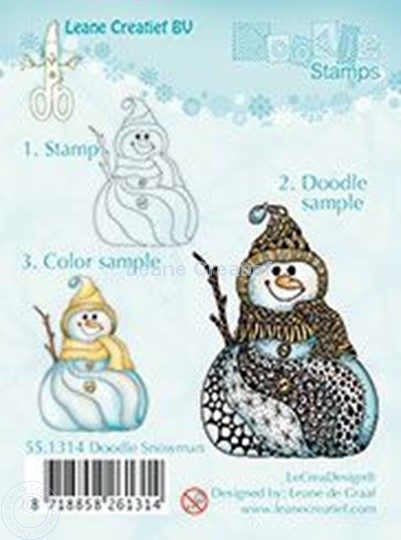 Image sur Doodle Snowman