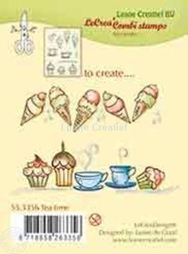 Afbeeldingen van Combi stamp Tea time