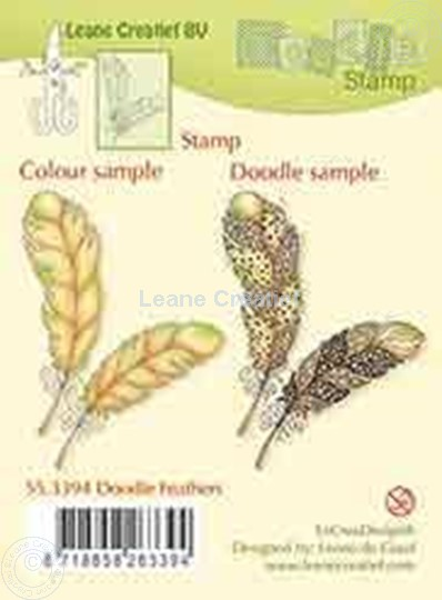 Image sur Doodle stamp Feathers