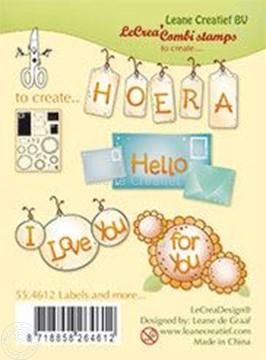 Afbeeldingen van Clear stamp Labels and more