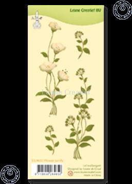 Image de Clear stamp Flower swirls