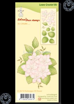 Bild von Clear stamp  Hydrangea 3D flower
