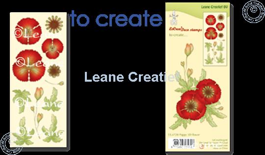Image sur Clear stamp Poppy 3D flower