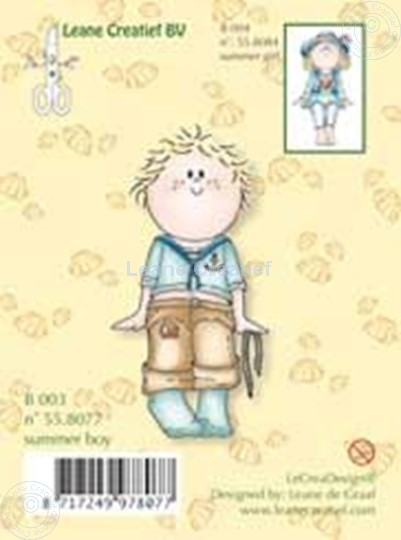 Image sur Clearstamp Bambinie´s B003 Summer boy