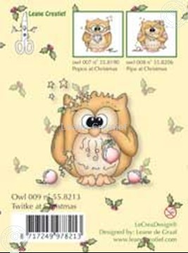 Image de Clearstamp Owlie´s Owl009 Twitke at Christmas