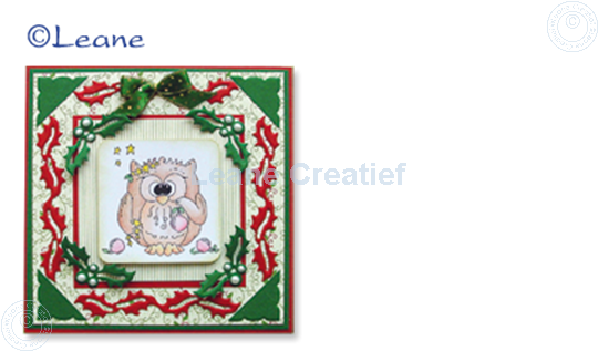 Image sur Clearstamp Owlie´s Owl009 Twitke at Christmas