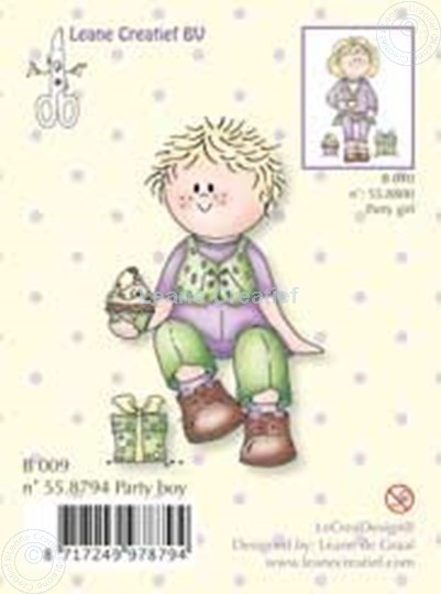Image sur Clearstamp Bambinie´s party boy