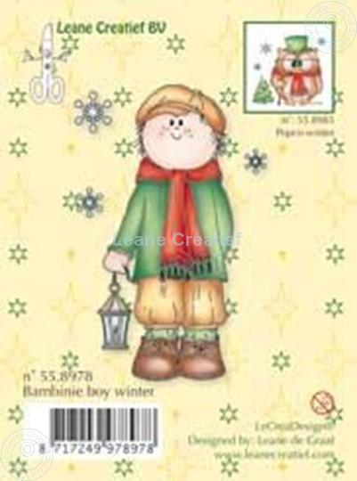Afbeelding van Clearstamp Bambinie's boy winter
