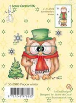 Image de Clearstamp Popco Winter