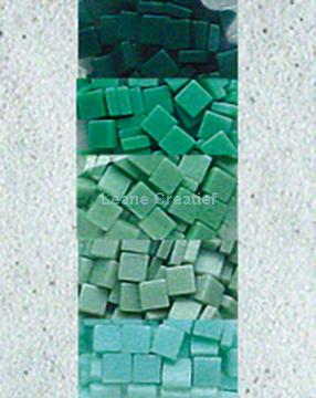 Picture of LeCreaDesign® mosaic stones II sea green