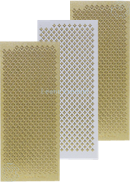 Picture of LeCreaDesign® Sticker diamonds gold