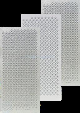Picture of LeCreaDesign® Sticker diamonds silver