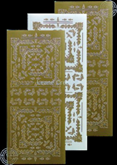 Image sur LeCreaDesign® Sticker de broder or