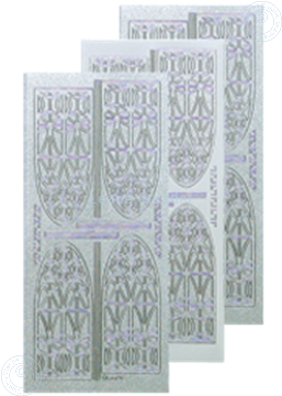 Picture of LeCreaDesign® church window sticker pearl silver