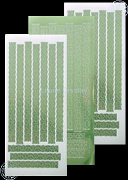 Afbeeldingen van LeCreaDesign® Lace sticker mirror apple