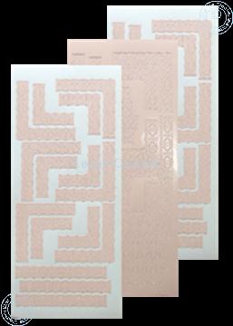 Afbeeldingen van LeCreaDesign® Lace hoek sticker skin