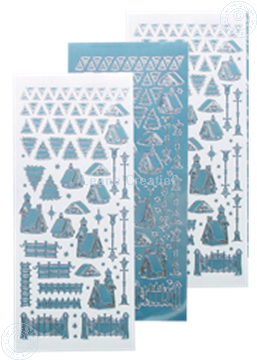 Image de scenery sticker hiver #40 mirror ice