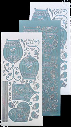 Image sur LeCreaDesign® sticker de volière mirror ice