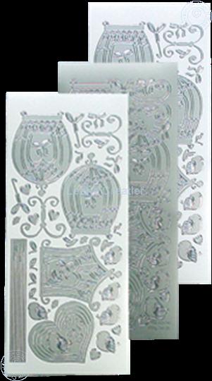 Image sur LeCreaDesign® sticker de volière silver