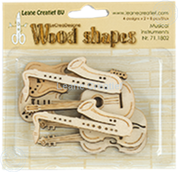 Bild von Woodshapes Musical instruments