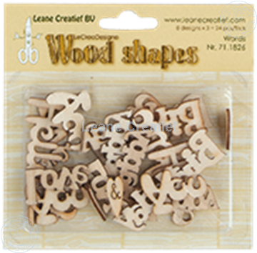 Image de Woodshapes Words from the heart