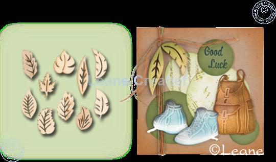Image sur Woodshapes Leaves
