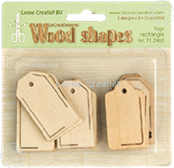 Bild von Woodshapes Tags rectangle