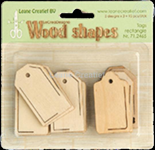Image sur Woodshapes Tags rectangle