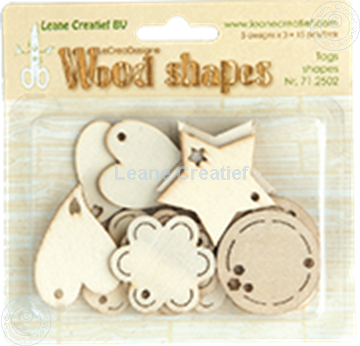 Bild von Woodshapes Tag shapes
