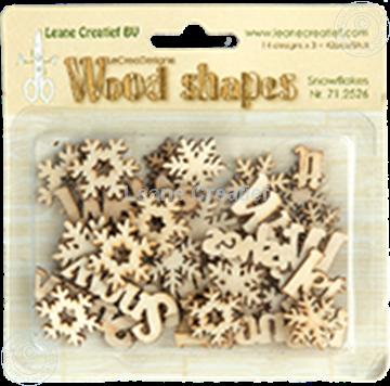 Afbeeldingen van Woodshapes Snowflakes