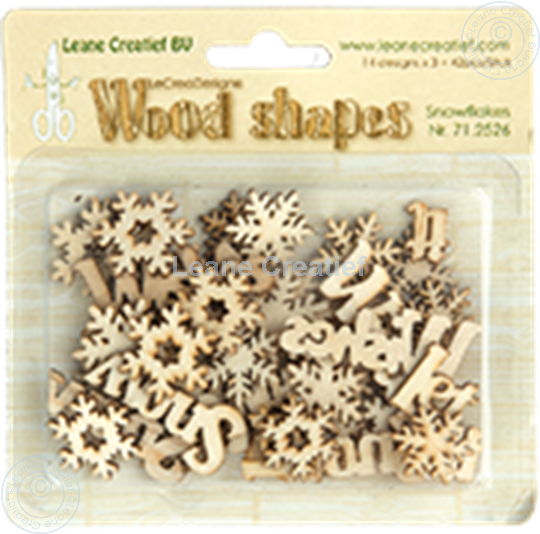 Picture of Woodshapes Snowflakes
