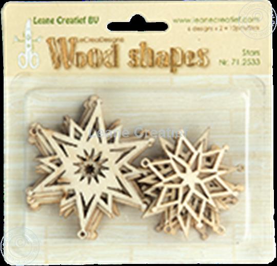 Image sur Woodshapes Stars