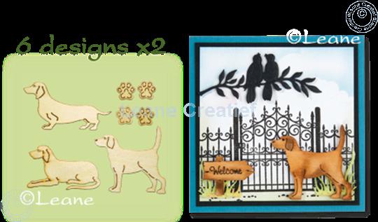 Image sur Woodshapes Dogs