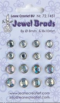 Picture of Jewel brads crystal
