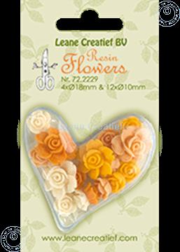 Bild von Resin flowers roses yellow