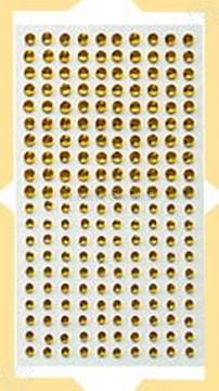 Image de LeCreaDesign® Pierres strass autocollants jaune
