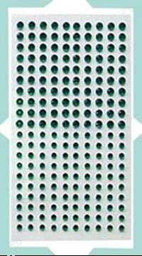 Picture of LeCreaDesign® Adhesive rhinestones green