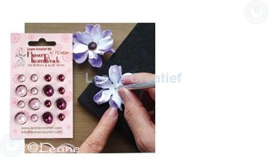 Image sur Pearl brads pink/bordeaux
