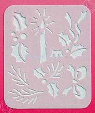 Picture of LeCreaDesign® Spirella® stencil Christmas
