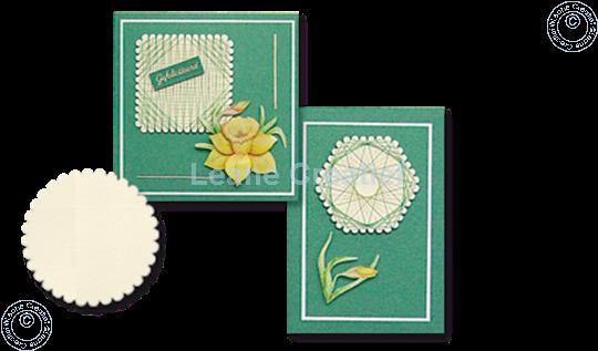 Afbeelding van LeCreaDesign® Spirella variaties goudwit