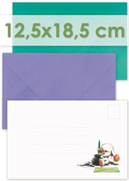Picture for category Envelopes 12,5x18,5cm