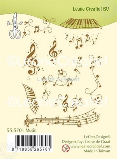 Bild von Silikon Kombi Stempel Musik